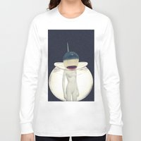 jaws Long Sleeve T-shirts featuring JAWS by delusionARTgallery