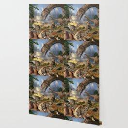 Jurassic dinosaurs being born Wallpaper