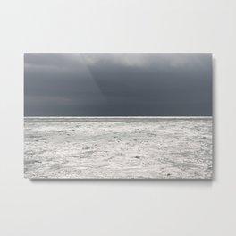 Ominous Ocean Metal Print