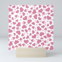 Love Hearts Mini Art Print