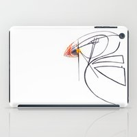 puffin iPad Cases featuring Puffin Love by Chelle Shaw