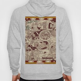 HP Inspired Chamber of Secrets Hoody