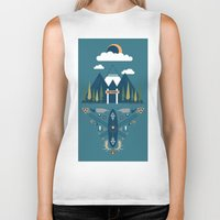 explore Biker Tanks featuring explore by Zachary Kiernan