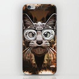 Cat Curious iPhone Skin