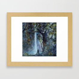 The Forest King Framed Art Print