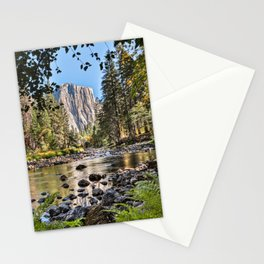 El Capitan Fall Colors And Merced River 10-20-18  Stationery Cards