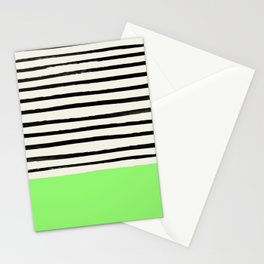 Key Lime x Stripes Stationery Cards