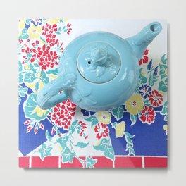 Teapot Blues Metal Print