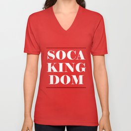 Soca Threads : Soca Kingdom 2018 Shirt Unisex V-Neck