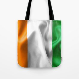 Ivory Coast Flag Tote Bag