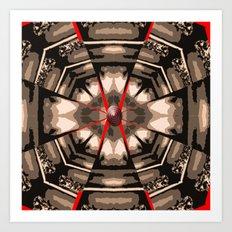 Internal Kaleidoscopic Daze- 13 Art Print