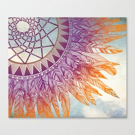 dreamcatcher: mining for the meaning Canvas Print