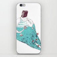 fat iPhone & iPod Skins featuring sad fat and ugly by mariana, a miserável(the miserable one)