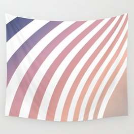 Soft pastel abstract lines Wall Tapestry