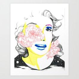 jayne mansfield Art Print