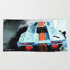 PORSCHE 917 K Le Mans Beach Towel