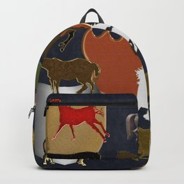 Horsing Around with Heraldry Backpack