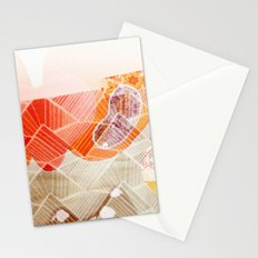 abstract textural Stationery Cards