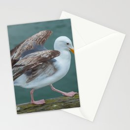 Walking Gull Stationery Cards