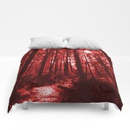 Shenandoah Red Comforters