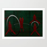 sport Art Prints featuring Sport by LoRo  Art & Pictures