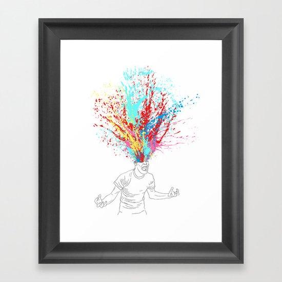 Scream Redux Framed Art Print