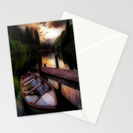 Summer Sunset Over Loch Ard Stationery Cards