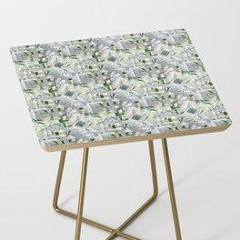 green_pattern Side Table