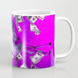 Rainbow Unicorn Dancing Pole Strip Dance Coffee Mug