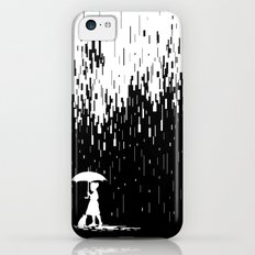 Pixel Rain iPhone 5c Slim Case