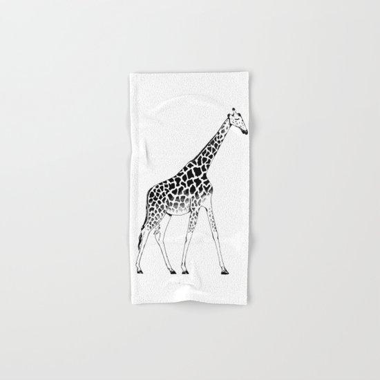 Lone Giraffe  Hand & Bath Towel