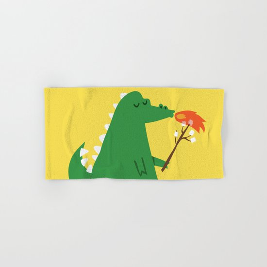 Dragon and Marshmallow Hand & Bath Towel