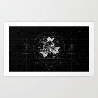 THE COMPASS Art Print