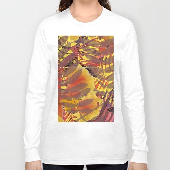 Autumn Tropical Vibe Long Sleeve T-shirt