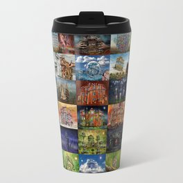 Super Collage - House Travel Mug