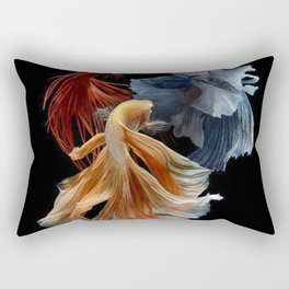 BEAUTIFUL BETA FISH Rectangular Pillow