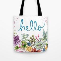 hello spring Tote Bag