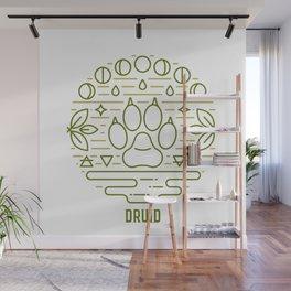 Druid Emblem Wall Mural