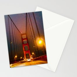 Glowing Landmark Stationery Cards