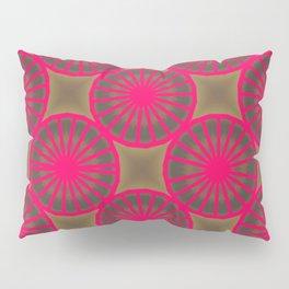 Pinkbrown(blue) Pattern 2 Pillow Sham