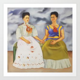 The Two Fridas Kunstdrucke