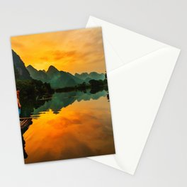 Sunrise on the Lake (Color) Stationery Cards