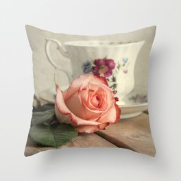 Have a cup of tea, please Throw Pillow