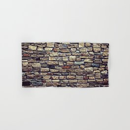 Brick Wall Pattern Hand & Bath Towel