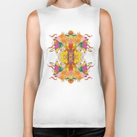 psych Biker Tanks featuring Free Psych and Mirrors - Antonio Feliz by Marina Molares