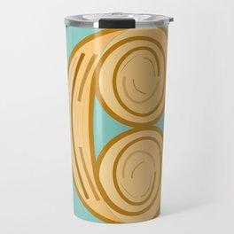 C for cool breakfast Travel Mug