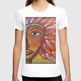 Tribal woman/warrior T-shirt