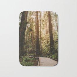 Muir Woods | California Redwoods Forest Nature Travel Photography Bath Mat