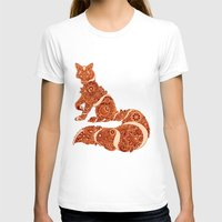 henna T-shirts featuring Henna fox by Dezi