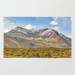 Snowy Mountains Patagonia Argentina Rug